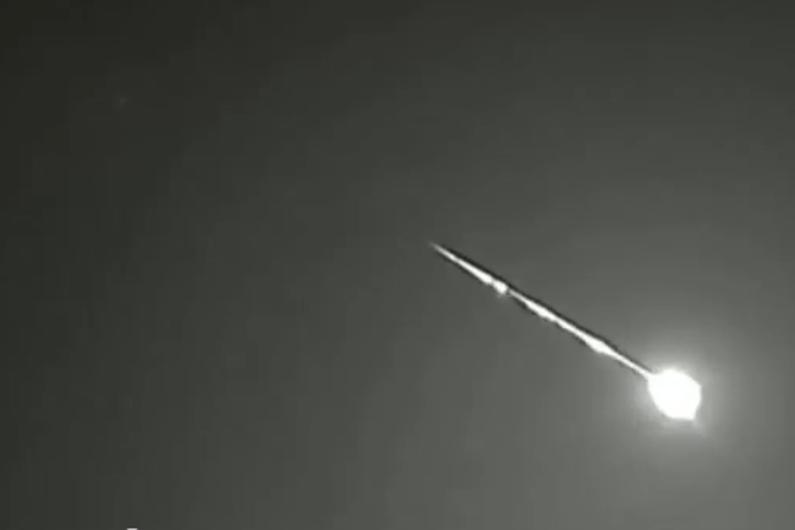Une spectaculaire météorite (illustration)