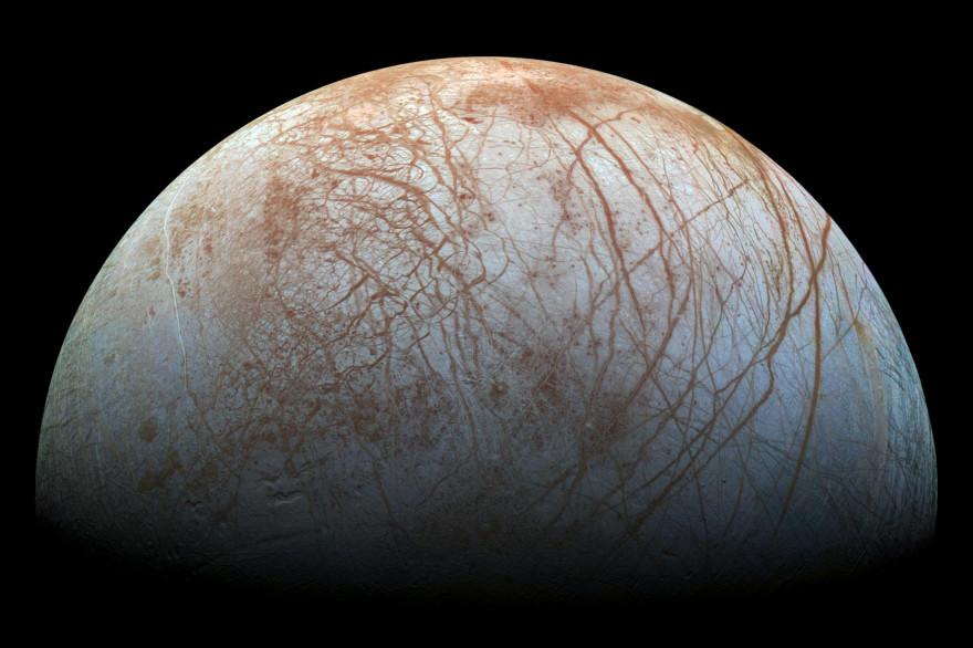 Europe, l'une des lunes de Jupiter