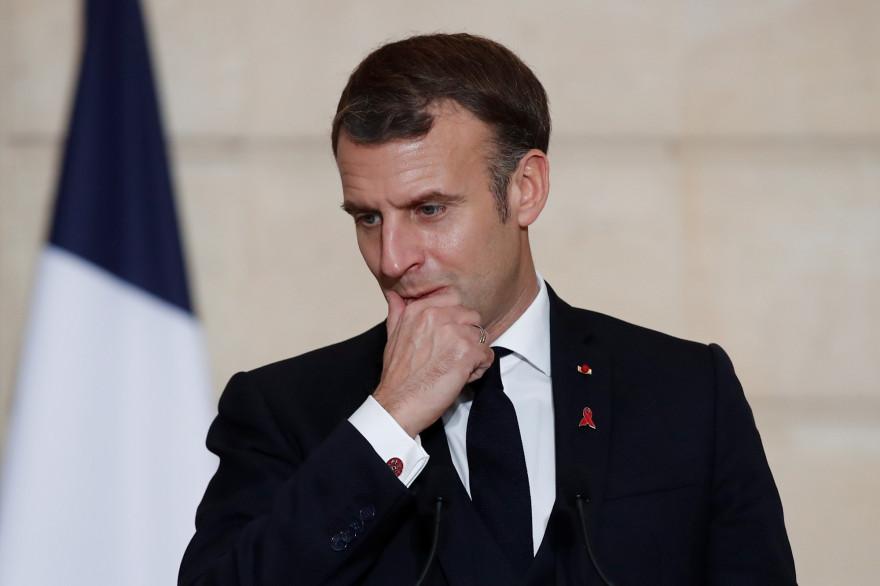 Emmanuel Macron, le 1er décembre 2020