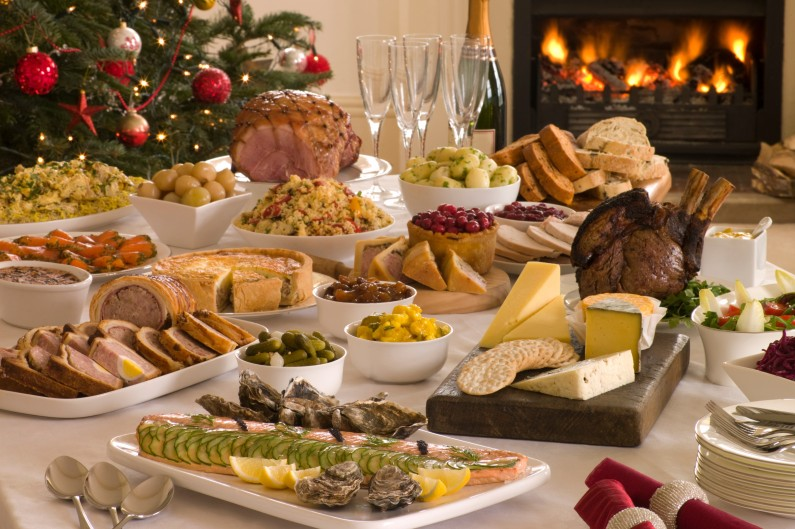 Les repas de Noël sont généralement très riches et difficiles à digérer