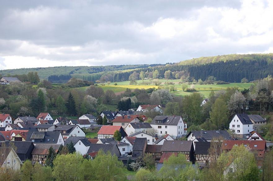 La petite ville de Waldsolms en Allemagne compte 4.800 habitants.