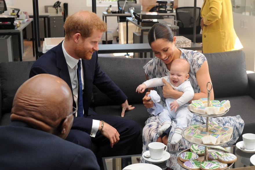 Les Sussex lors d'une visite en Afrique du Sud en septembre 2019