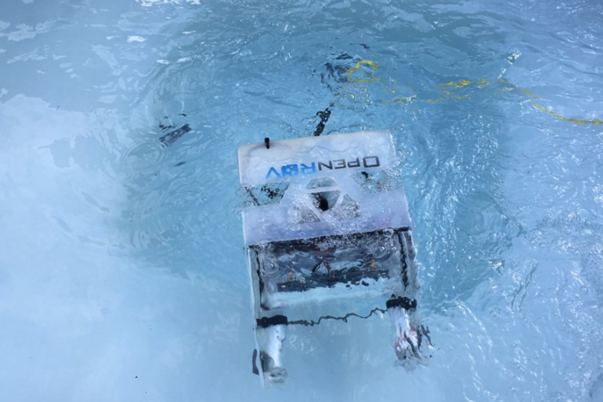 Le drone sous-marin OpenRov
