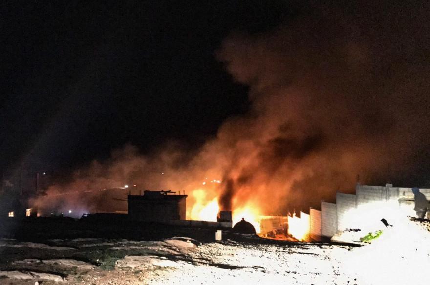 Une explosion a eu lieu 3 janvier 2021 dans la province de Hermel entre le Liban et la Syrie.