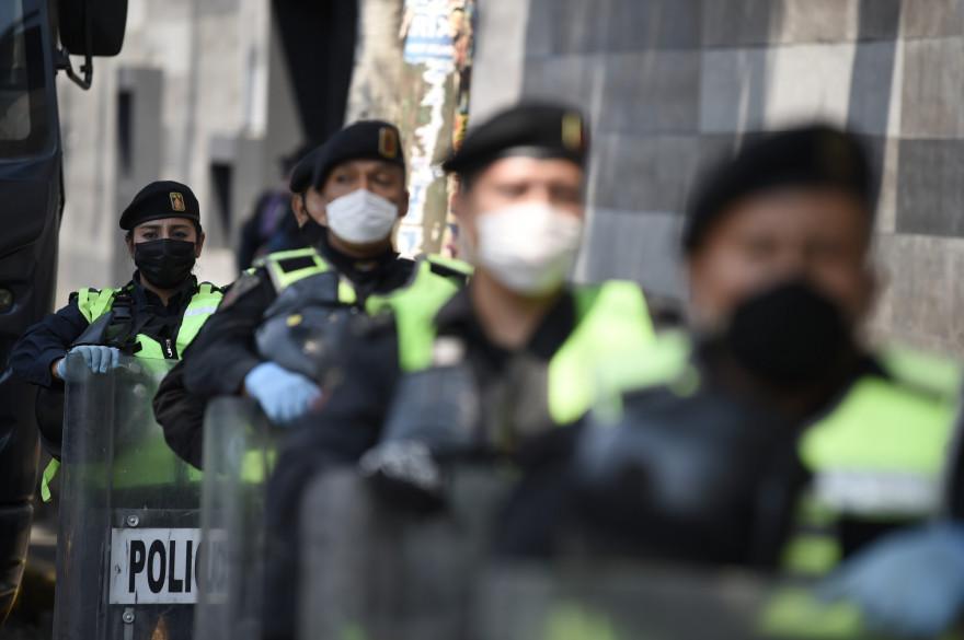 Des policiers au Mexique (illustration)