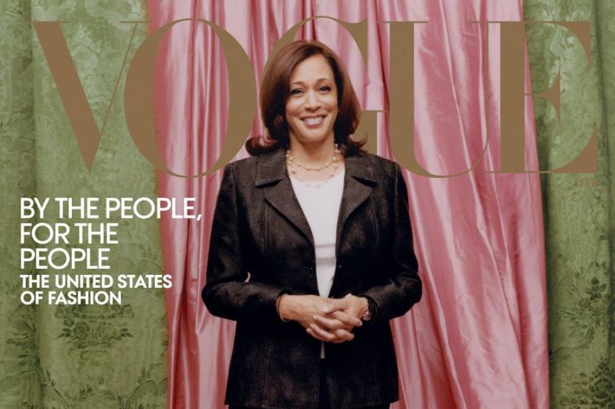 La une de «Vogue» du mois de février.