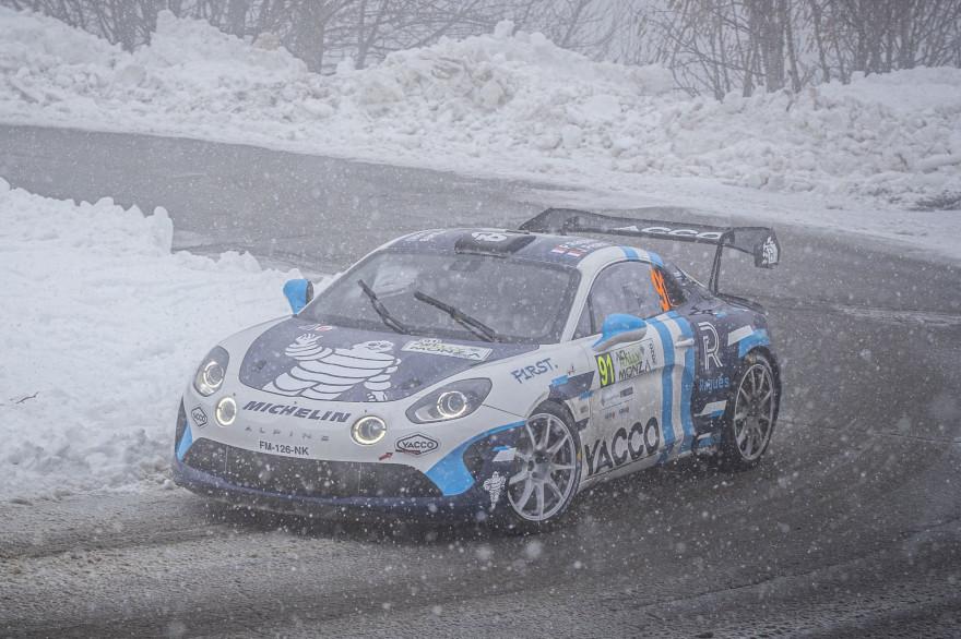 L'Alpine de Pierre Ragues à Monza en décembre 2020