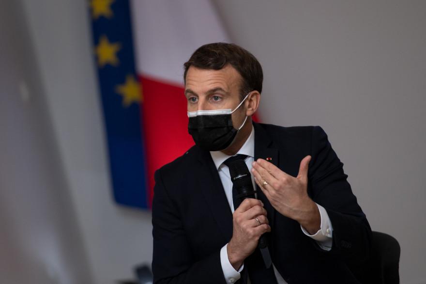 Emmanuel Macron, le 5 janvier 2021