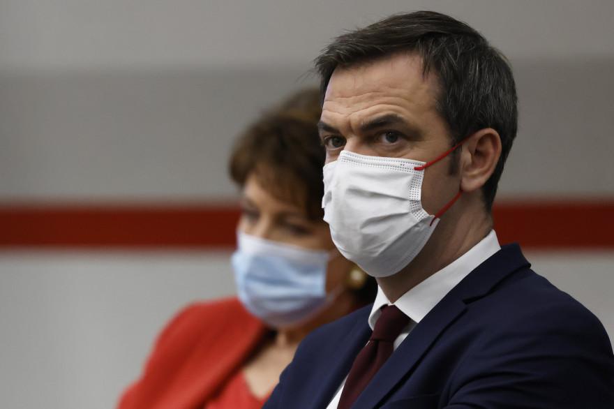 Le ministre de la Santé Olivier Véran le 14 janvier 2021