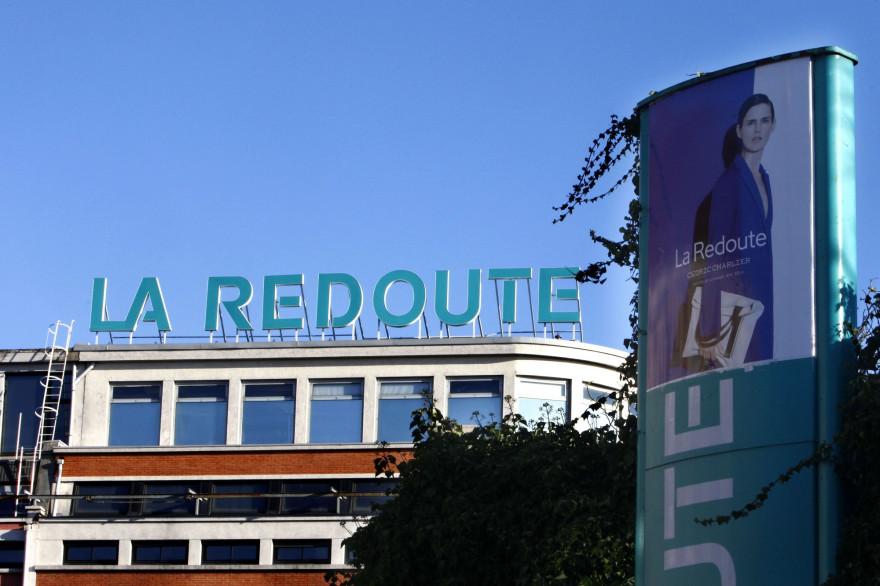 L'entrepôt de La Redoute à Wattrelos.