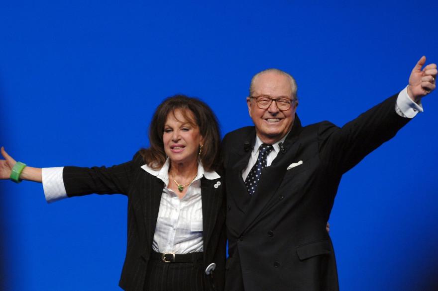 Jean-Marie et Jany Le Pen en 2007 (illustration).
