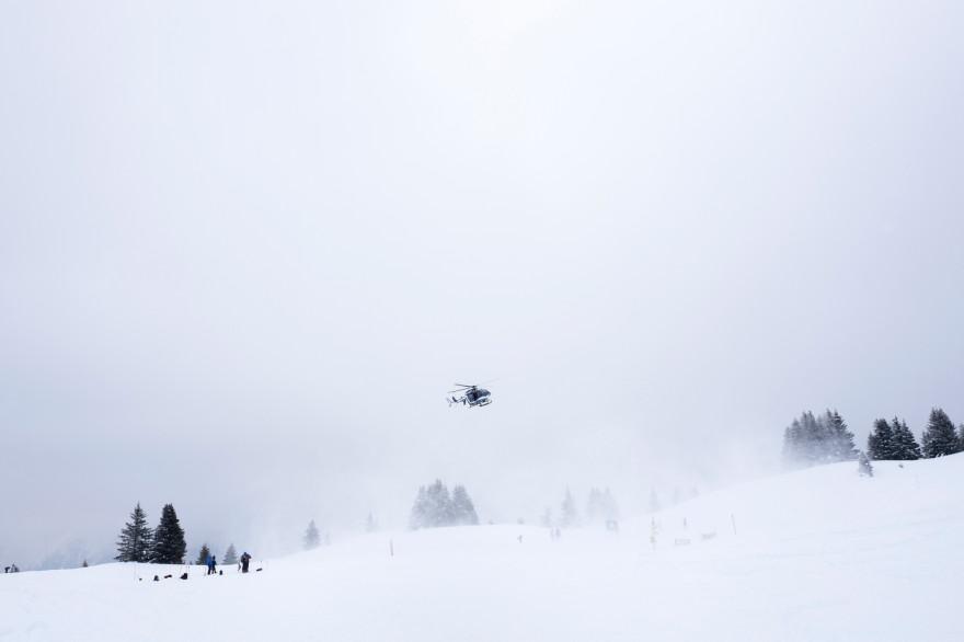 Un hélicoptère de secours (illustration).