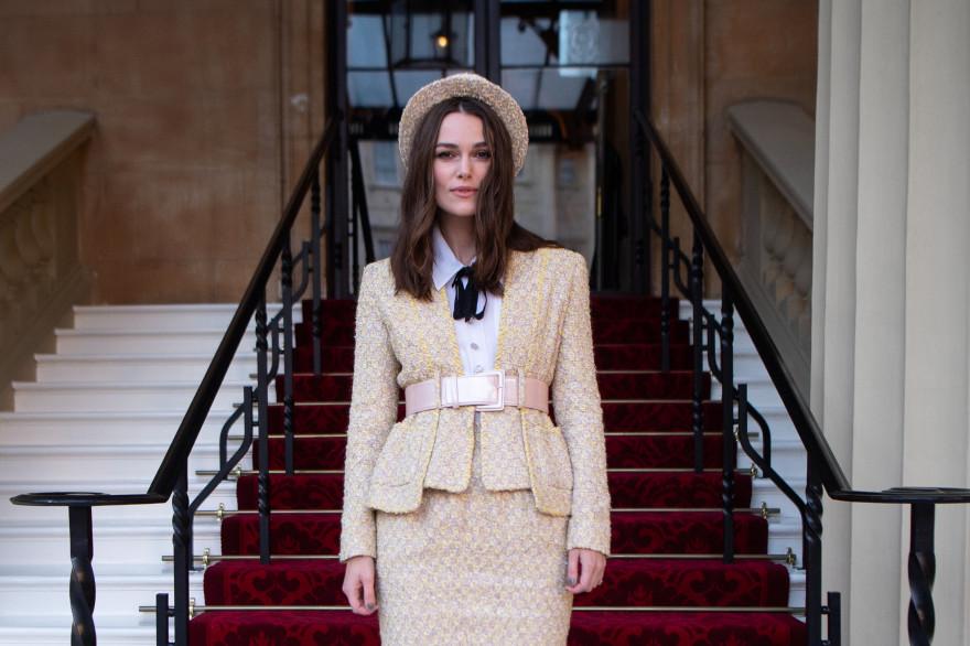 Keira Knightley à Buckingham Palace en 2018
