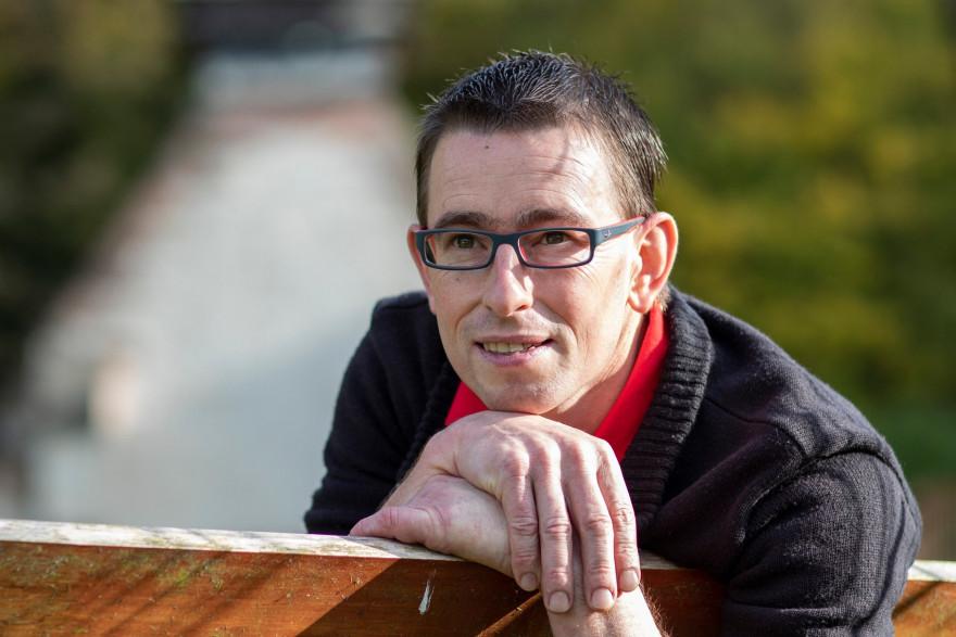 Hervé, 42 ans, éleveur de vaches laitières en Picardie