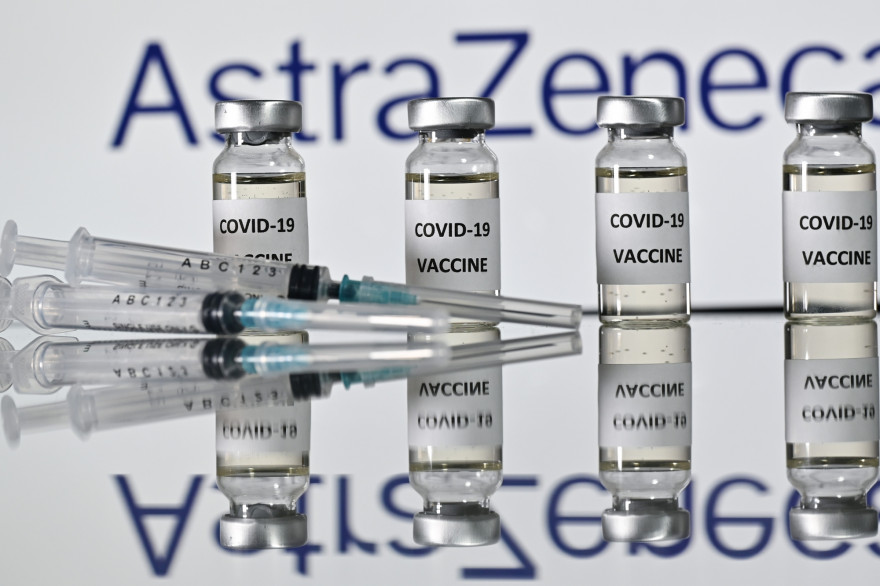 Des doses du vaccin AstraZeneca/Oxford (illustration)