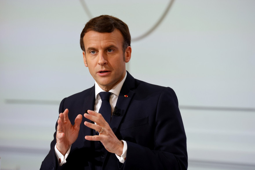 Emmanuel Macron, le 25 janvier 2021