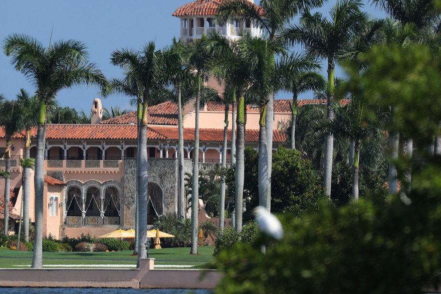 Le club Mar-a-Lago à Palm Beach, en Floride (illustration).