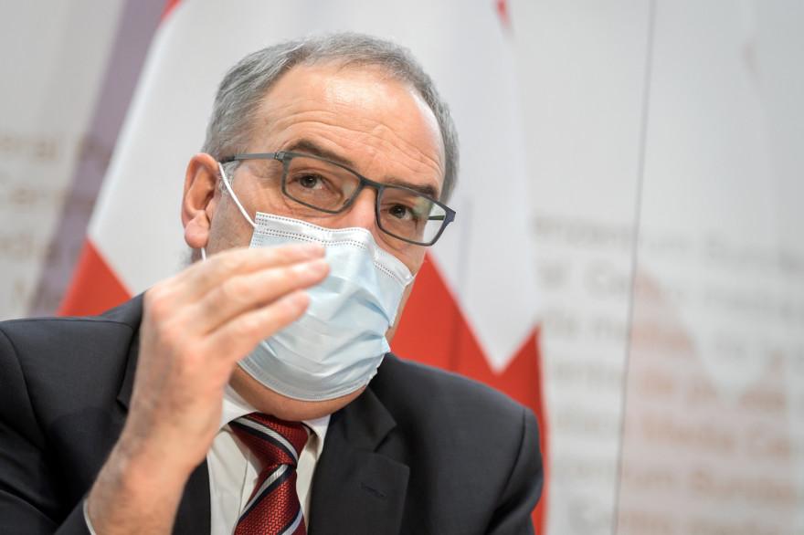 Le président suisse, Guy Parmelin, le 13 janvier 2021.