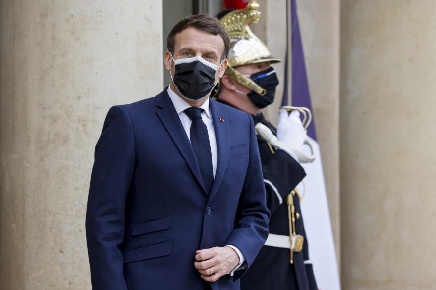 Emmanuel Macron, le 1er février 2021
