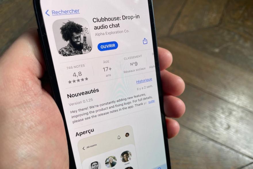 Le réseau social basé sur l'audio Clubhouse a séduit 10 millions d'utilisateurs