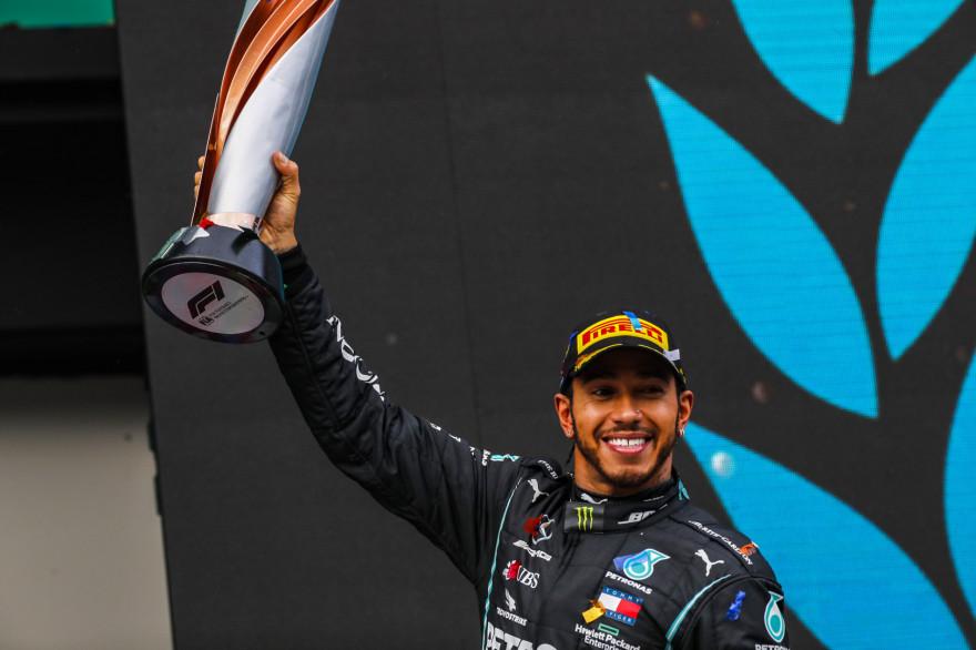Lewis Hamilton au Grand prix de Turquie 2020