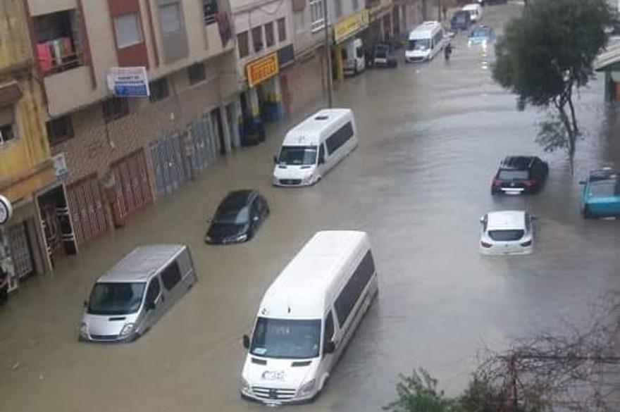 """Résultat de recherche d'images pour """"image d'inondation au maroc le 08 février 2021"""""""