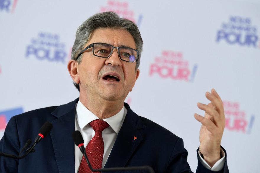 Jean-Luc Mélenchon, le 14 janvier 2021