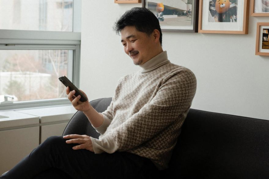 Kim Beom-su, le fondateur de KakaoTalk.