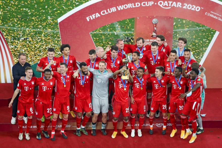 Le Bayern Munich a remporté le Mondial des clubs en s'imposant face aux Tigres de Monterrey, le 11 février 2021