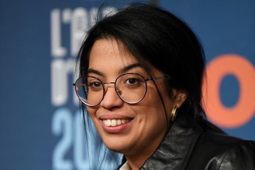 La comédienne Melha Bedia au festival de l'Alpe d'Huez en 2020