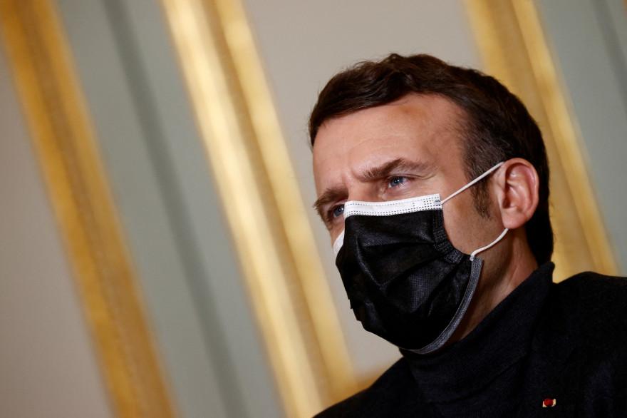 Emmanuel Macron, le 8 février 2021