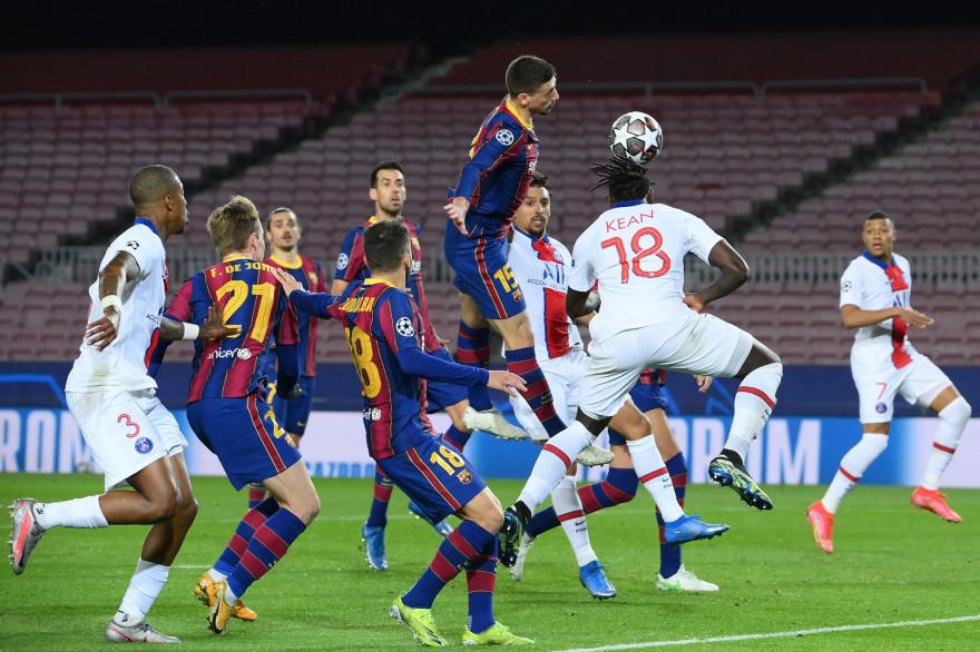 Moise Kean signe le 3e but parisien à Barcelone le 16 février 2021