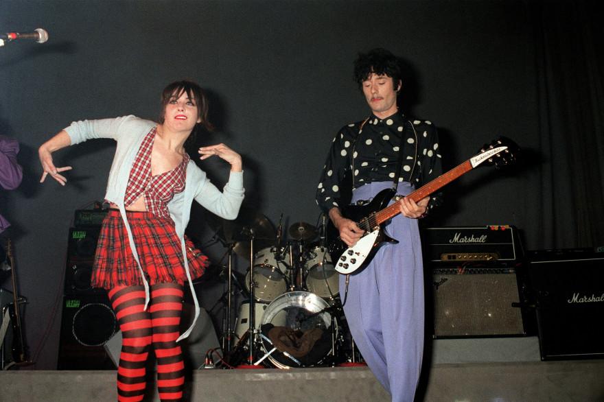 Les Rita Mitsouko en concert à Paris en 1987