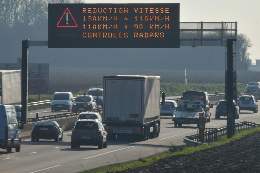 L'épisode de pollution aux particules concerne tout le Grand-Est. Seules les Vosges sont épargnées.