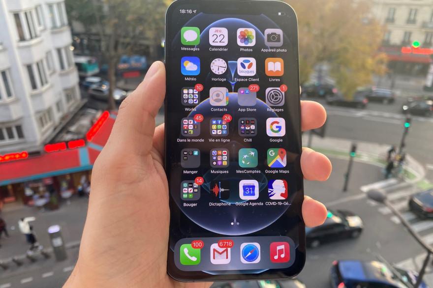 L'iPhone 12 Pro est l'un des derniers nés d'Apple