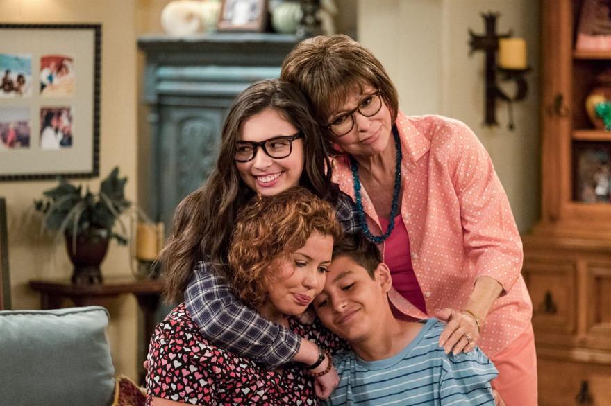 """La famille Alvarez dans la série """"Au fil des jours"""""""