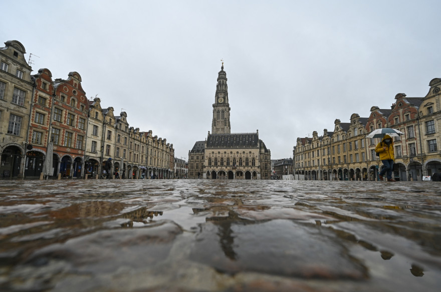 À Arras, comme dans tout le Pas-de-Calais, un confinement le week-end est instauré pour 4 week-ends dès samedi 6 mars.