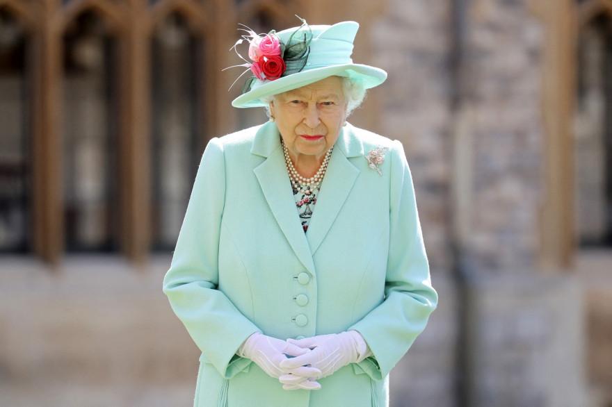 Photo de la reine Elizbeth II prise à Windsor le 17/07/2020.