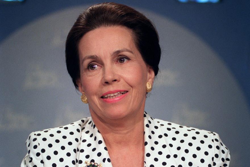 Marie-France Garaud, le 23 août 1992