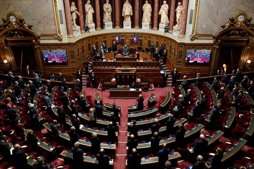 L'hémicycle du Sénat (illustration).