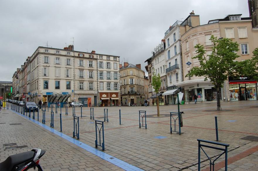 La place de la Motte, à Limoges (illustration)
