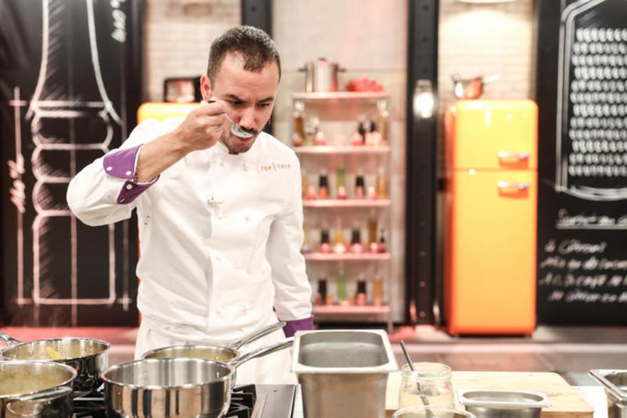 """Baptiste de la brigade de Paul Pairet dans """"Top Chef"""""""