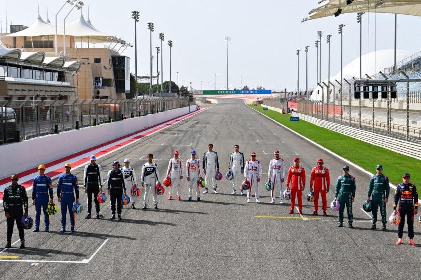 Les 20 pilotes de la saison 2021 de F1