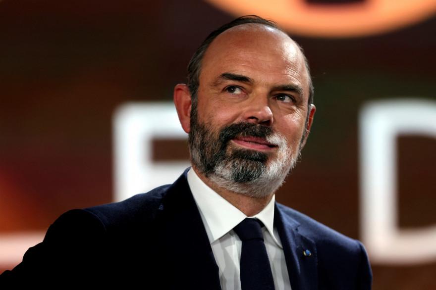 Edouard Philippe sur le plateau de 20h30 le dimanche, le 4 avril 2021