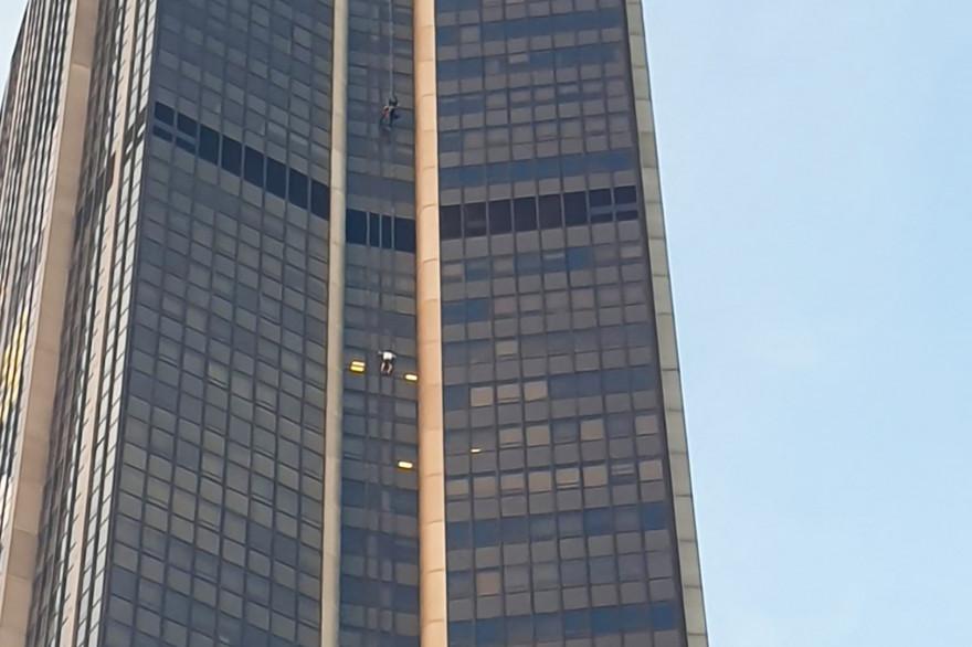 La tour Montparnasse à Paris (illustration)