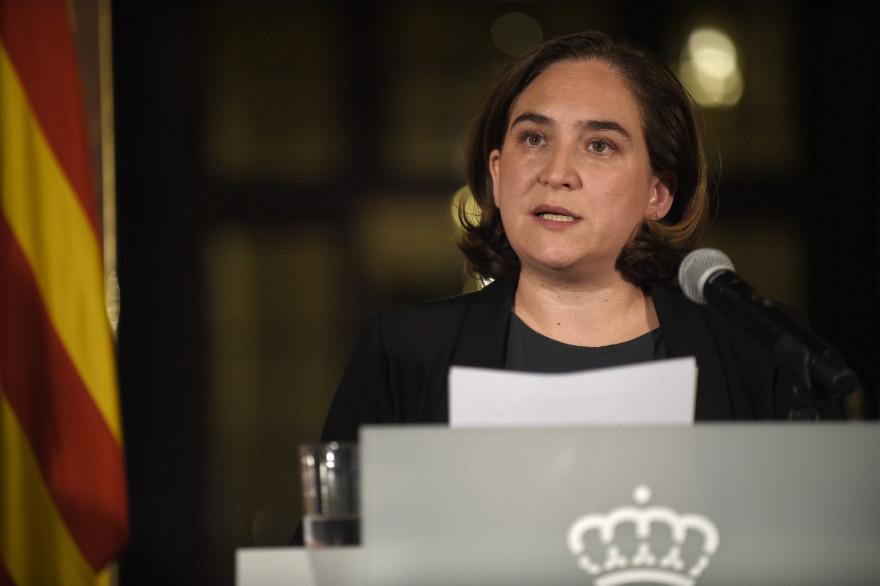 Ada Colau, la maire de Barcelone.
