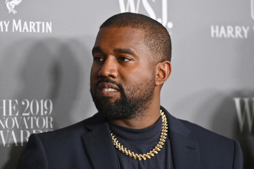Photo du rappeur américain Kanye West prise à New York le 6 novembre 2019.