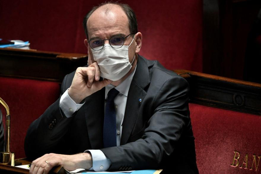 Jean Castex à l'Assemblée, le 13 avril 2021