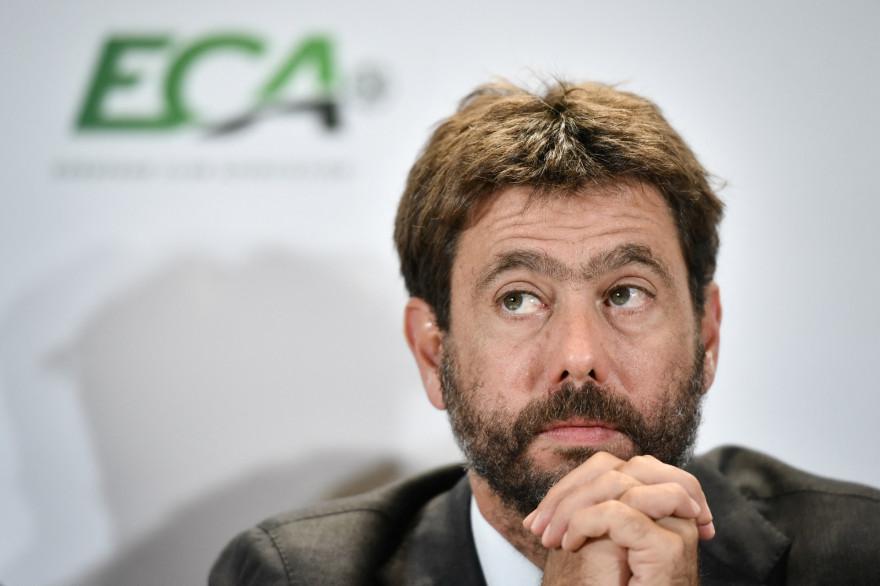Andrea Agnelli, anciennement président de l'ECA