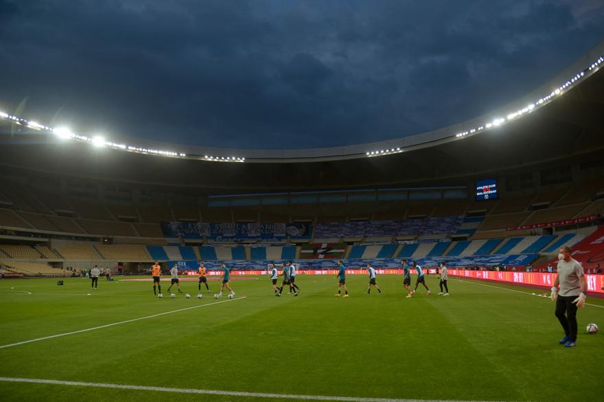 Le stade olympique de Séville, la Cartuja, le 3 avril 2021